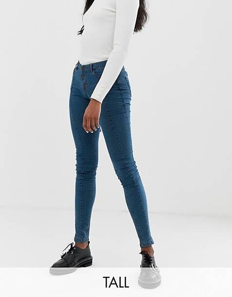 Neue Dr.Denim Highwaist Jeans blau mit Löchern in S