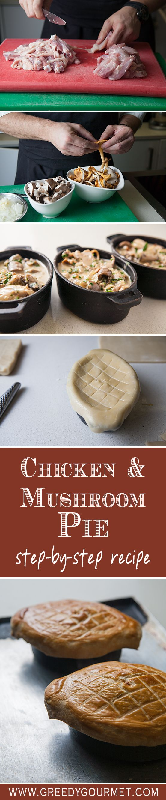 Click here for the best Chicken and Mushroom Pie in the world!