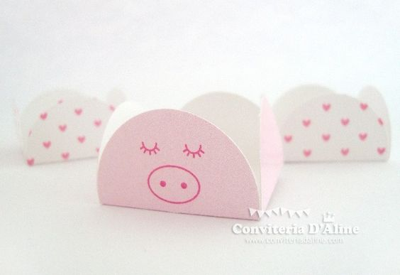 Forminha personalizada para docinho tema Peppa Pig