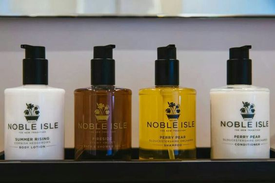 Noble Isle Products at #TheCoachHouse love their Rhubarb Hand & Body Lotion ..