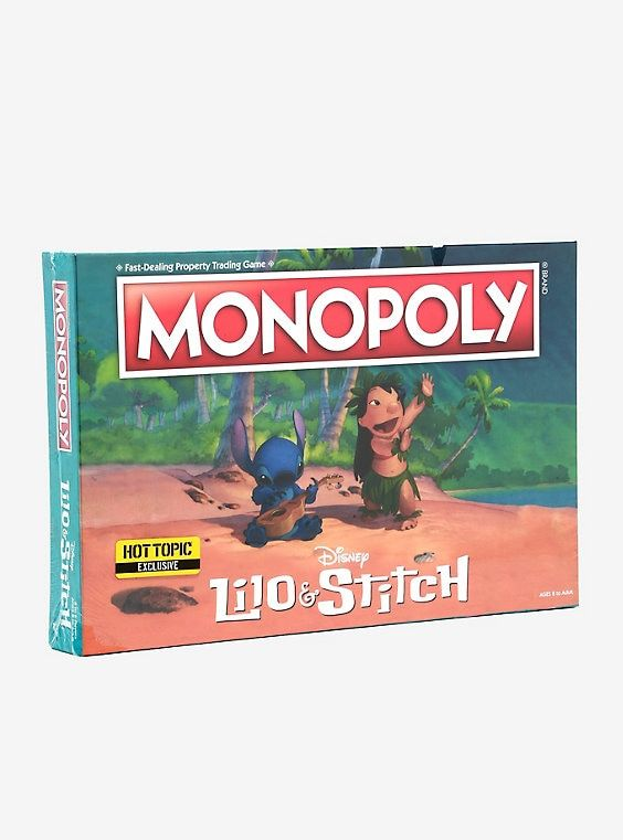 Disney Lilo Stitch Edition Monopoly Board Game Juegos De Mesa Juegos Juguetes