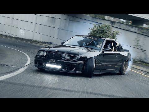Sleighing Seattle Drift Ls3 E36 4k Youtube E36 Drift Drift Car Jdm Wallpaper