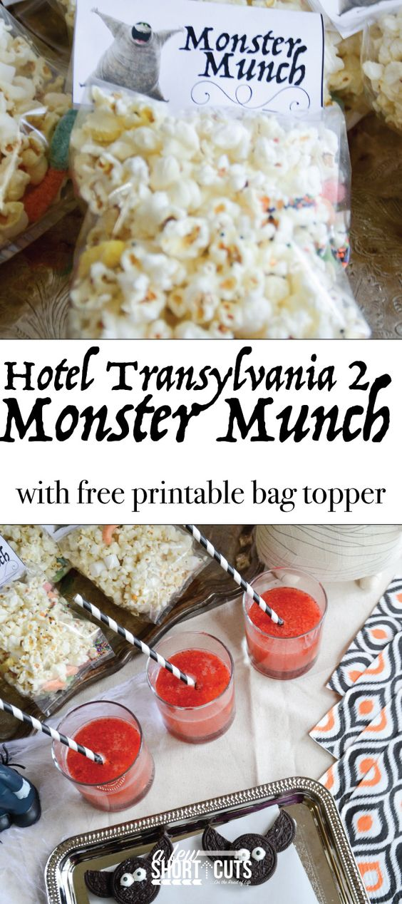 Hotel transylvania hotel transylvania 2 and monster munch for Hotel transylvania 2 decorations
