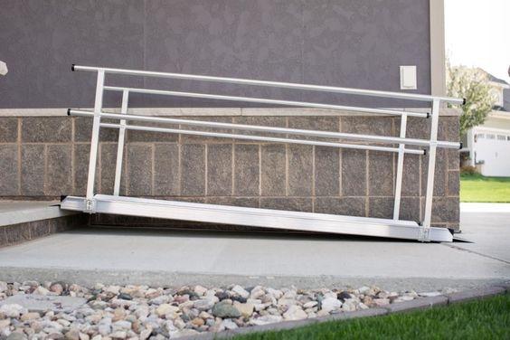 Gateway Ramp with Handrail
