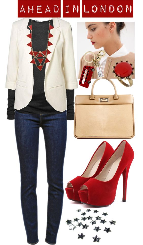 """""""ahead in London"""" by diana1717 ❤ liked on Polyvore"""
