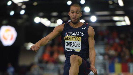 Athlétisme: Benjamin Compaoré en bronze au triple saut des Mondiaux en salle