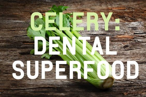 "Does anyone in your family like celery? Tooth strengthening vitamins increased saliva flow tooth ""scrubbing"" fibers all make celery a #DentalSuperfood!    #HealthyEating - Joel B. Shields DDS PC Dentistry for Children and Teens 