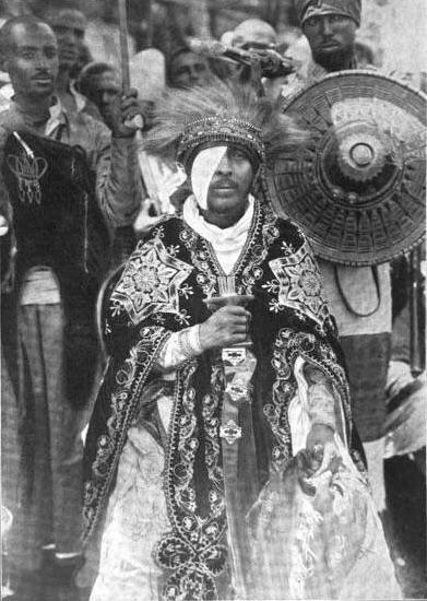 Ethiopian nobleman Bezabih Teklehaimanot between 1900-05 [391550] | Эфиопия