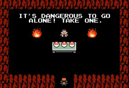 Pokémon meets The Legend of Zelda!