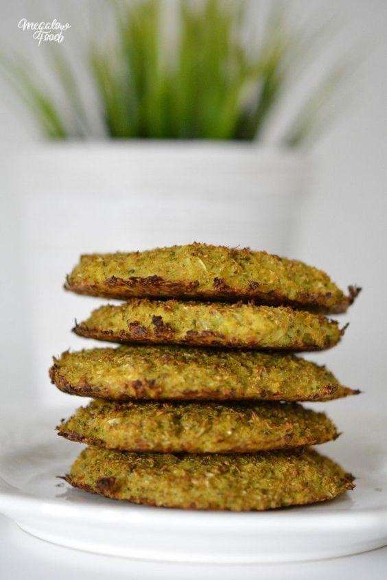 Galettes de brocolis au parmesan IG bas