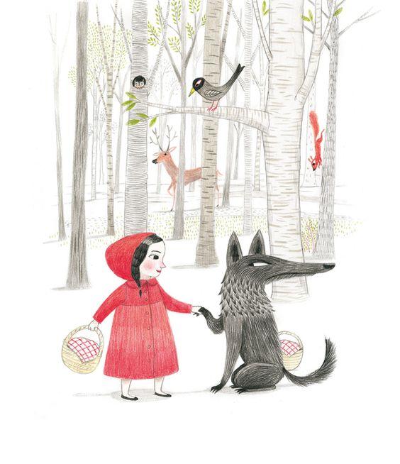 """Cambiando cuentos. Mar Ferrero nos habla de """"Lo que no vio Caperucita Roja"""": """"Pues la verdad es que para mi los cuentos clásicos son como un estándar para improvisar. Cuando les contaba cuentos a mis hijas me lo inventaba todo"""""""