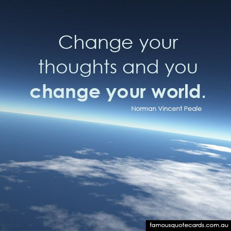 Famous quotes, Norman vincent peale and Famous quotes about change ...
