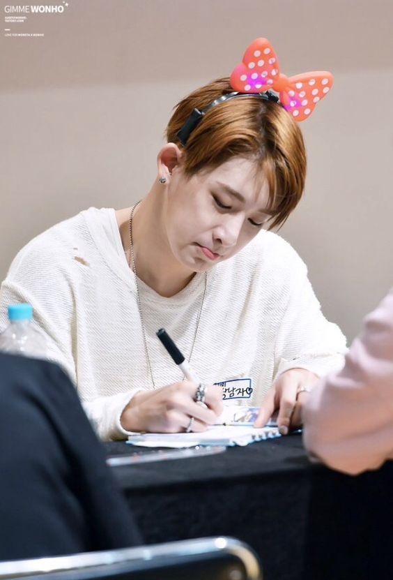 MONSTA X || Wonho, Shin Ho Seok
