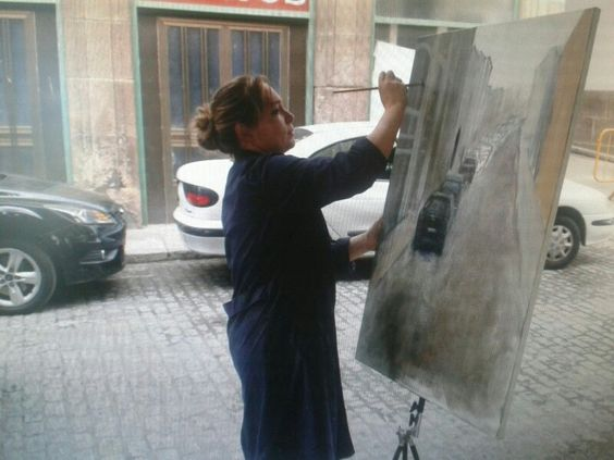 Painting in Ferrol