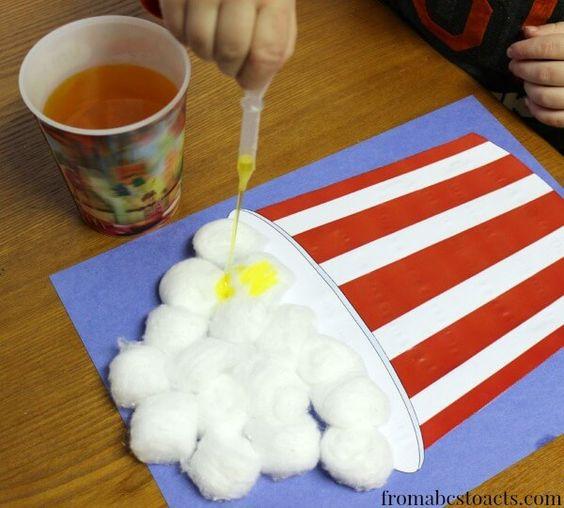 fine motor activities for preschool - circus preschool theme