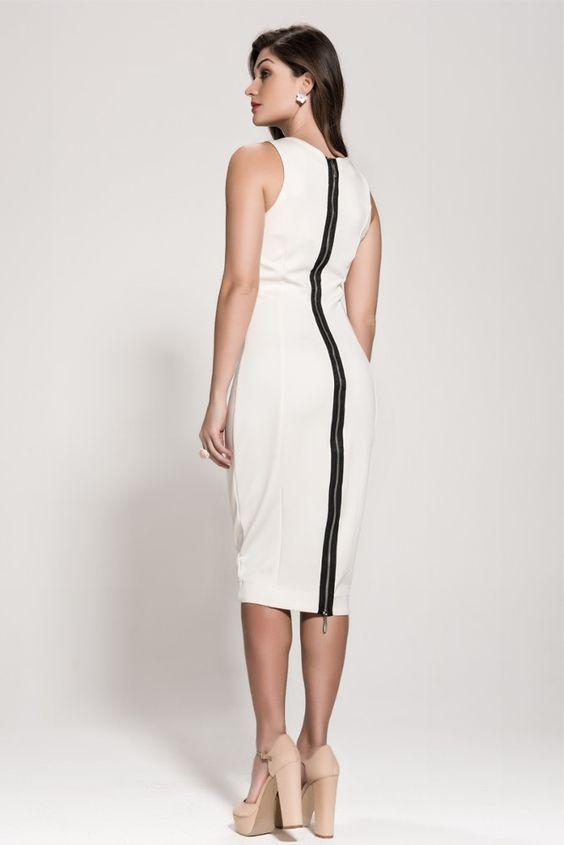 Vestido Tubinho Midi - Ref. 2048 - ameyoficial