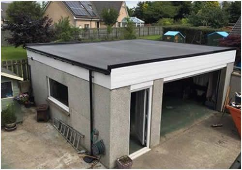 How To Felt A Flat Garage Roof Inviting Perfect Flat Roof Repairs Every Time Flat Roof Repair Flat Roof Shed Roof Design