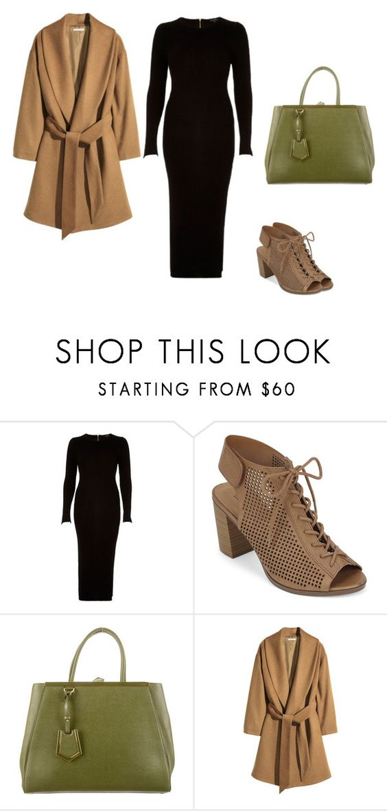 """""""Classic"""" by fauxflorall ❤ liked on Polyvore featuring River Island, Call it SPRING, Fendi and H&M"""