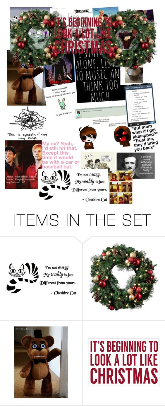"""CHRISTMAS SCENARIOS"" by lilypixels ❤ liked on Polyvore featuring art"