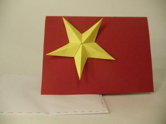 Carte de Noël - Étoile