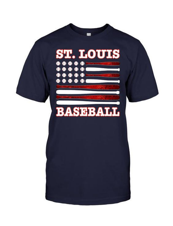 Limited Edition St. Louis Baseball Flag Tee