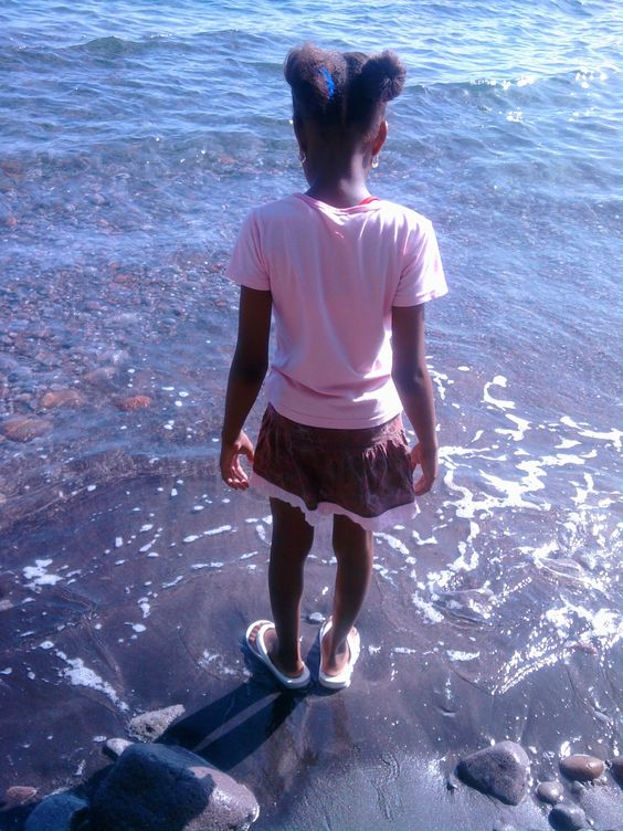 black sand beaches in DOMINICA
