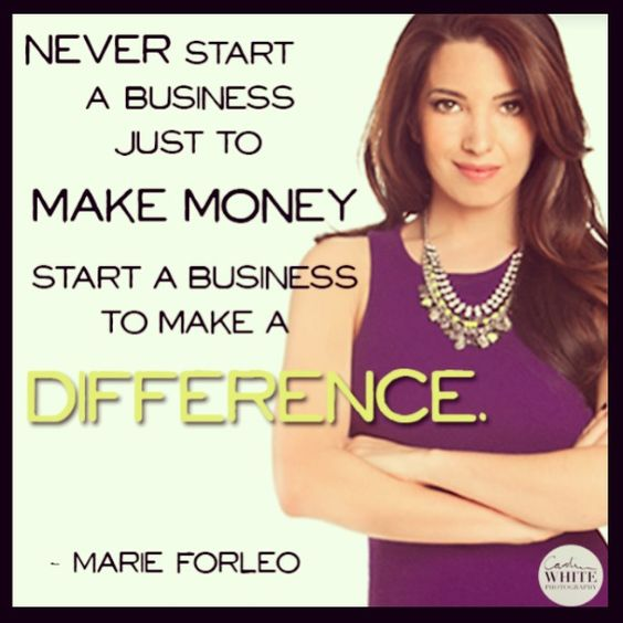 Oh Marie forleo I heart you!!