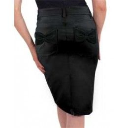 Tempted Stretch Pencil Skirt