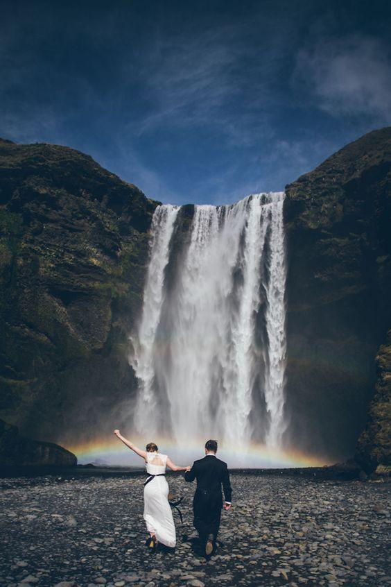 Lovely elopement in South Iceland  #pinkiceland #icelandweddingplanner