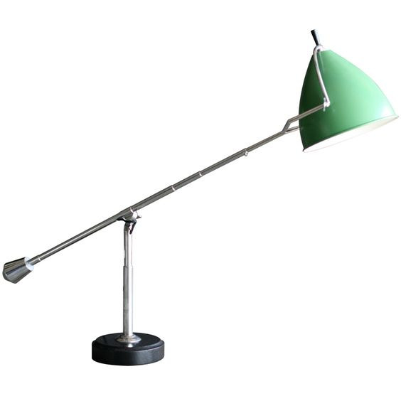 Equilibrium desk light designed in by Edouard Wilfried Bouquet