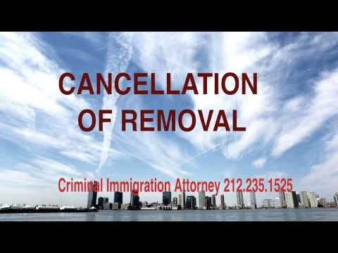 How to Apply for Cancellation of Removal? http://blog.lawyersinus ...
