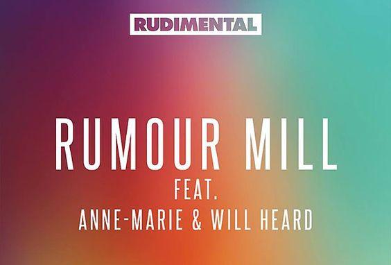 Rudimental - Rumour Mill Feat. Anne Marie & Will Heard http://pausemusicale.com/rudimental-rumour-mill-feat-anne-marie-will-heard/