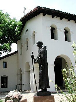 Mission San Luis Obispo de Tolosa, such a lovely place! I bought a authentic Mexican cookbook there!