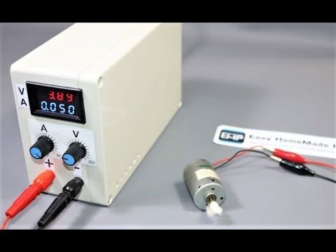How To Make A Dc Bench Power Supply At Home 0 30v 0 3a Adjustable Youtube Electronics Workshop Electrical Projects Electronic Circuit Projects