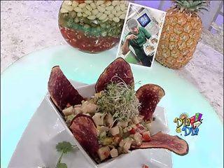 Cocina al Día:Ensalada de carrucho al día | Telemundo de Puerto Rico canal líder en telenovelas, noticias y entretenimiento | Videos