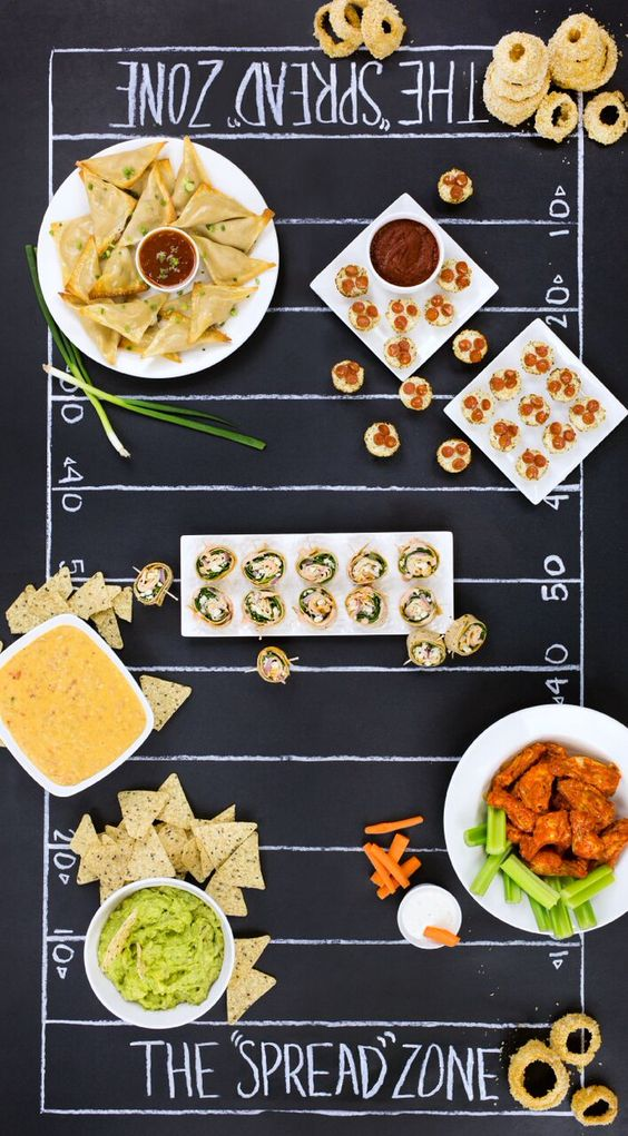 Super Bowl snacks for your game day party!