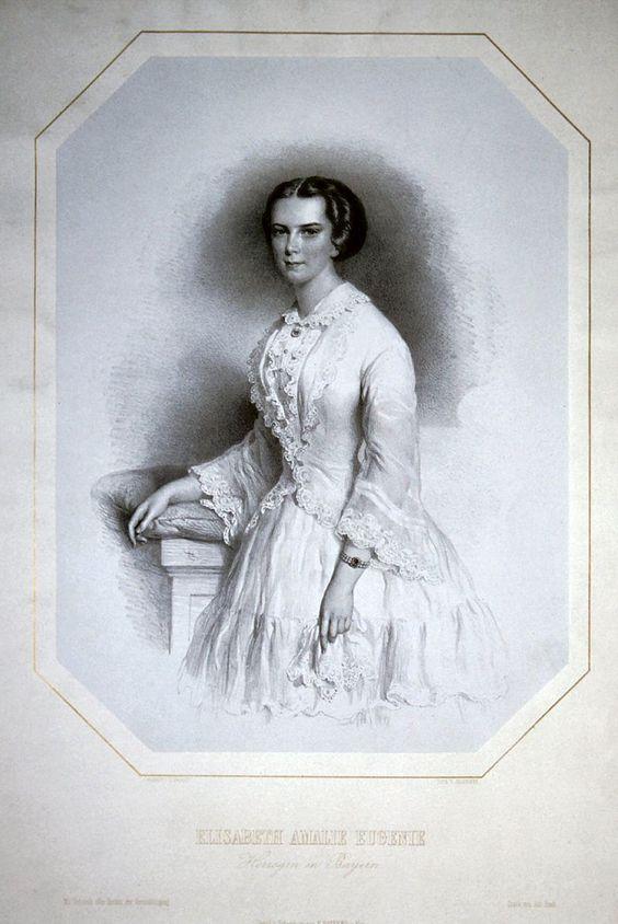 Elisabeth von Österreich Litho.jpg