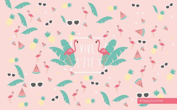 Vive l'été - Summer Desktop wallpaper - Fond d'écran ordinateur summer
