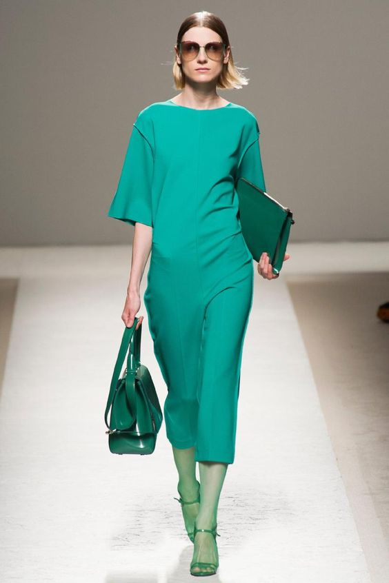 I would wear this every day. Max Mara, Milan, Spring 2014