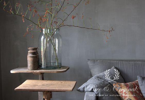 Pure & Original - The Charm of Natural Colours krijtverf, kalkverf, marrakech walls, ...
