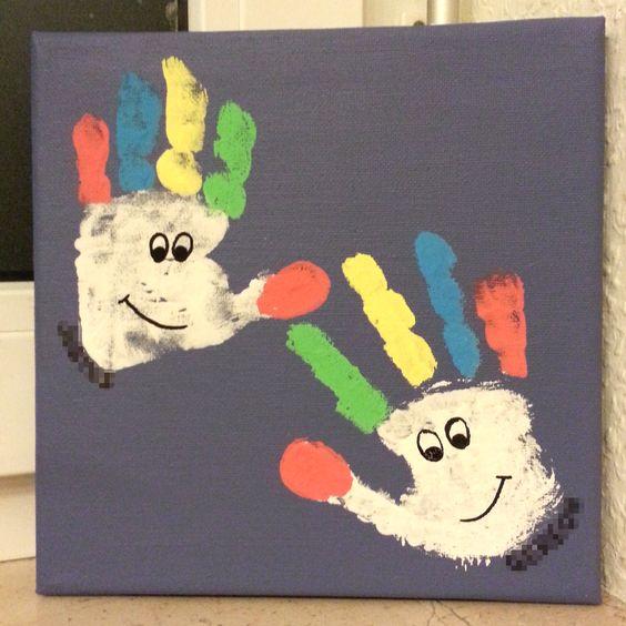 clowns aus handabdr cken alaaf basteln pinterest clowns. Black Bedroom Furniture Sets. Home Design Ideas