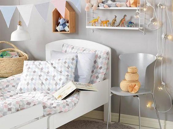 Baby Slaapkamer Nina : Decorar con rombos arlequín la habitación del ...