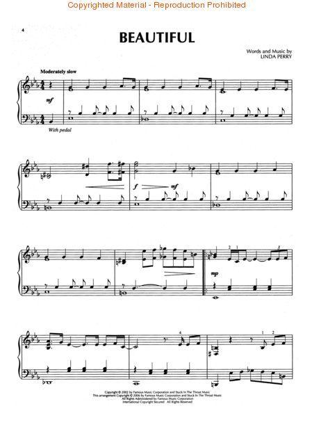 Popular Pop Songs Piano Sheet Music