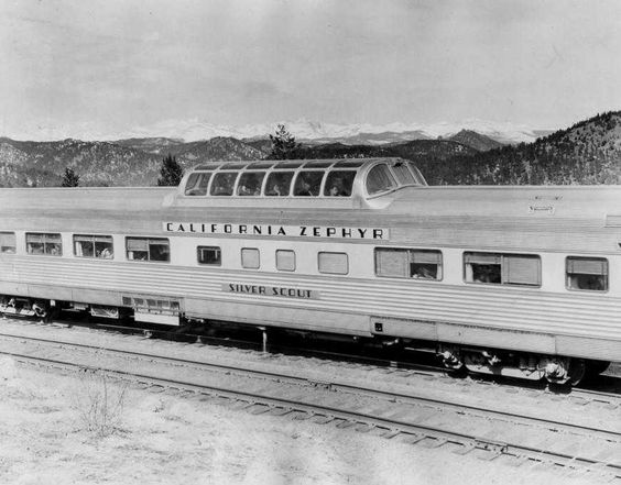 Glenwood Canyon inspired Amtrak's Vista-Dome railcar in the 1940s