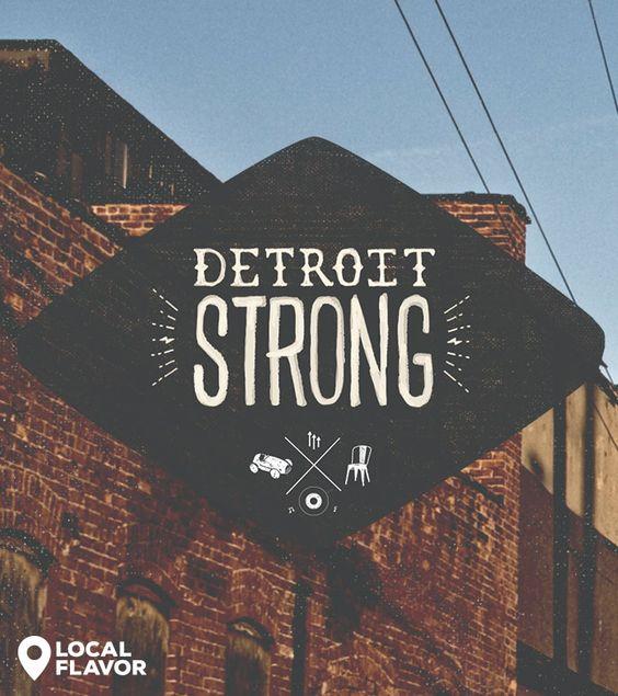 Detroit Strong | dotandbo.com