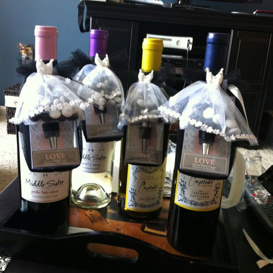 Bridal Shower Game Prizes!- Wine, Wine Stopper, And