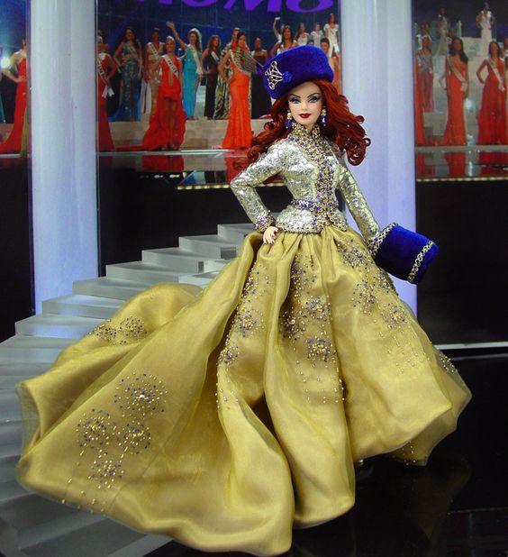Miss Tatarstan 2012 - De este central de Rusia europea llega esta magnífica zarina de Rusia desde el valle del río Volga en un conjunto absolutamente exquisito que iría bien con la corona NiniMomo!: