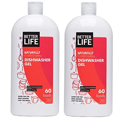 Shopx7 Health Household Better Life Natural Dishwasher Gel Detergent 30oz Pack Of Natural Dishwasher Detergent Best Dishwasher Detergent Dishwasher Detergent