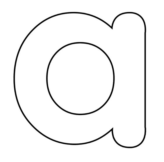 coloring pages small | Small Letter A Coloring Pages | letters | Pinterest ...
