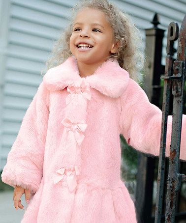 This coat would feel super soft and comfy on my lil one and keep her nice and snug! #zulily #fall